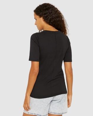 Jag Katie Crew Neck Tee - T-Shirts & Singlets (black)