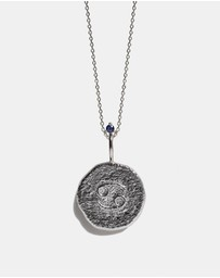 Aletheia & Phos - The Cancer Zodiac Necklace