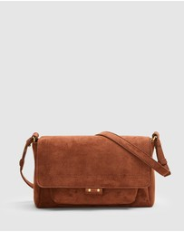 French Connection - Sueded Cross Body Handbag