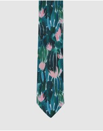 Peggy and Finn - Cactus Flower Tie