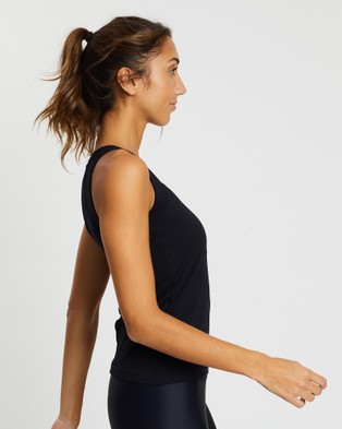 AVE Activewoman - PET Dry Fit Tank Top Muscle Tops (Black)