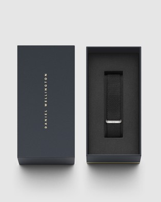 Daniel Wellington Nato Strap Petite 16 Cornwall Watch Band   For Petite 36mm - Watches (Silver)