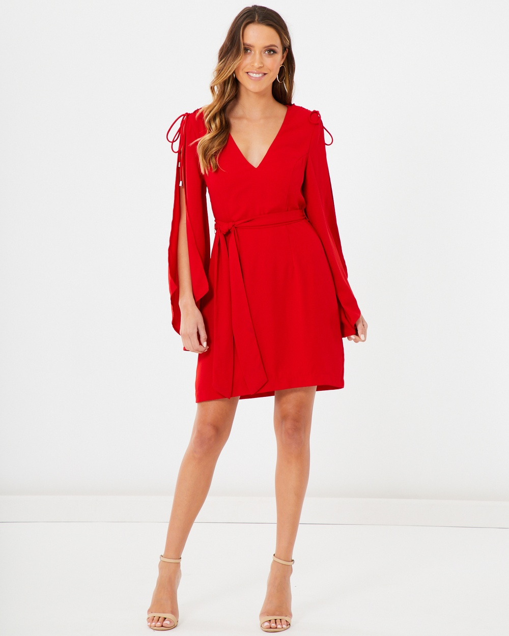 Photo of Tussah Red Amber Mini Dress - beautiful dress from Tussah online