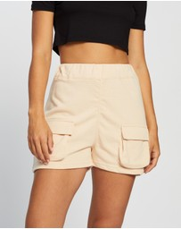Missguided - Jogger Utility Pocket Shorts