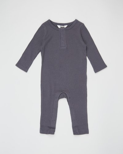 The Rib Snap Romper - Babies