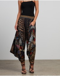 Camilla - Jersey Drape Pants with Pocket