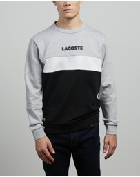 Lacoste - Lifestyle Colour Block Sweatshirt