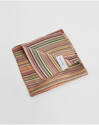 Paul Smith - Multi-Stripe Pocket Square