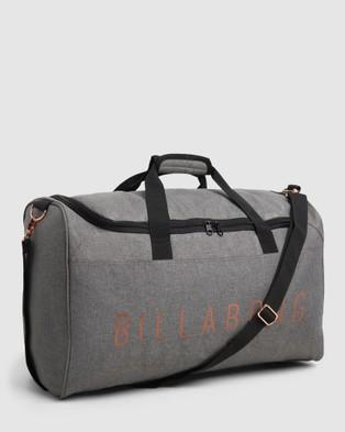 Billabong Infinity Weekender Duffle Bag - Travel and Luggage (GREY MARLE)