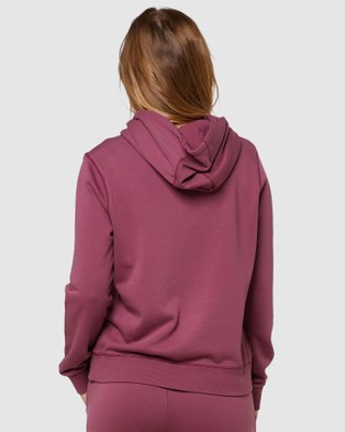 Elwood Huff N Puff Hood - Sweats & Hoodies (Mulberry)