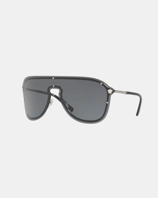 Versace Versace Frenergy VE2180 - Sunglasses (All Black)