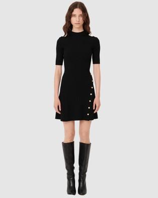 Maje Rosea Dress - Dresses (BLACK)