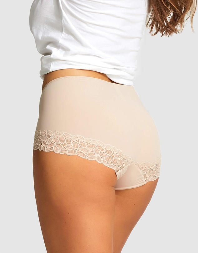Women 2 Pack Next Level Firming Lace & Micro Full Brief
