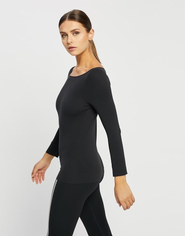 Women Yoga Luxe Long Sleeve Top