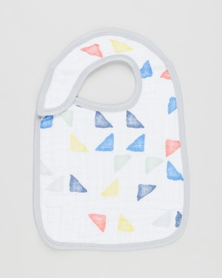 Aden & Anais - 3 Pack Classic Snap Bibs (Leader of the Pack) 3-Pack