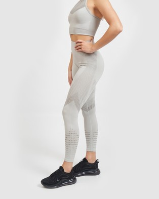 Core Trainer Synergy Tights - Sports Tights (Dove Grey)