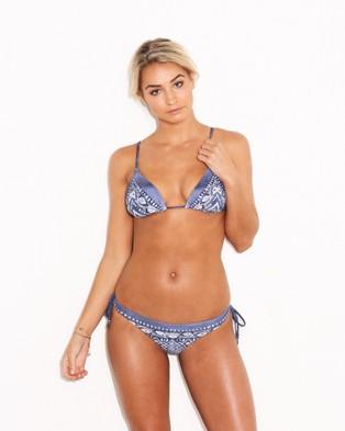 Rusty – Desert Flower Classic Bikini Pants – Bikini Bottoms (Navy)