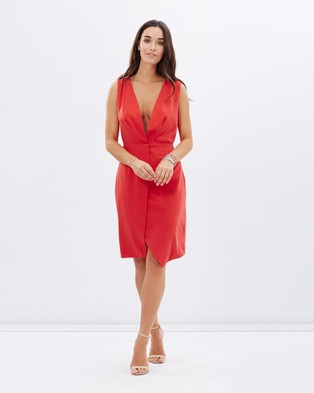 Wish – Amelie Dress – Dresses (Flame)