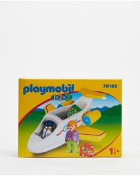 Playmobil - 123 Plane with Passenger - Kids