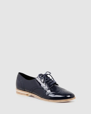Nine West Adrien - Flats (NAVY PATENT)
