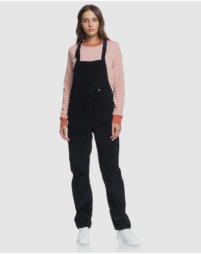 Roxy - Womens Past Or Present Cord Overalls