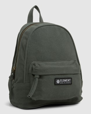 Element Jets Canvas Backpack - Backpacks (ARMY)