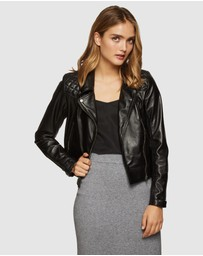 Oxford - Emma Biker Leather Jacket