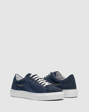 VoR??utte - Lyon Low Top Sneakers - Sneakers (Navy)