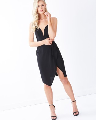 Tussah – Elsa Cocktail Dress Black