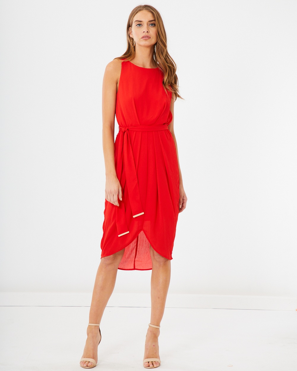 Photo of Tussah Red Cristobal Cocktail Dress - beautiful dress from Tussah online