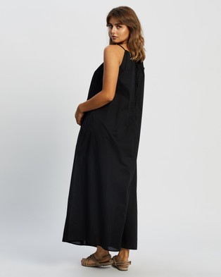 Assembly Label Voile Maxi Dress - Dresses (Black)