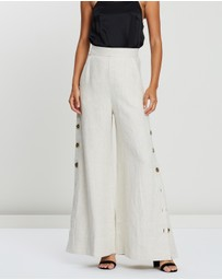 Shona Joy - Aluaro Palazzo Pants with Side Splits