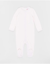 Polo Ralph Lauren - Solid One-Piece Coveralls - Babies