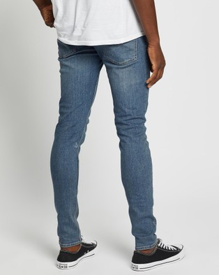 Volcom 2x4 Tapered Jeans - Jeans (Blue)