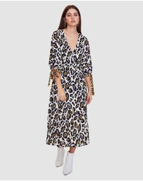 Vestire - Leopard Lounge Midi Dress