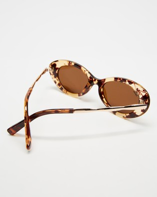 Reality Eyewear High Society - Sunglasses (Honey Turtle)