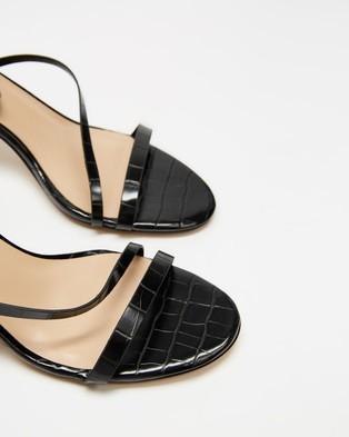 ALDO Kalla - Sandals (Black Embossed Croc)
