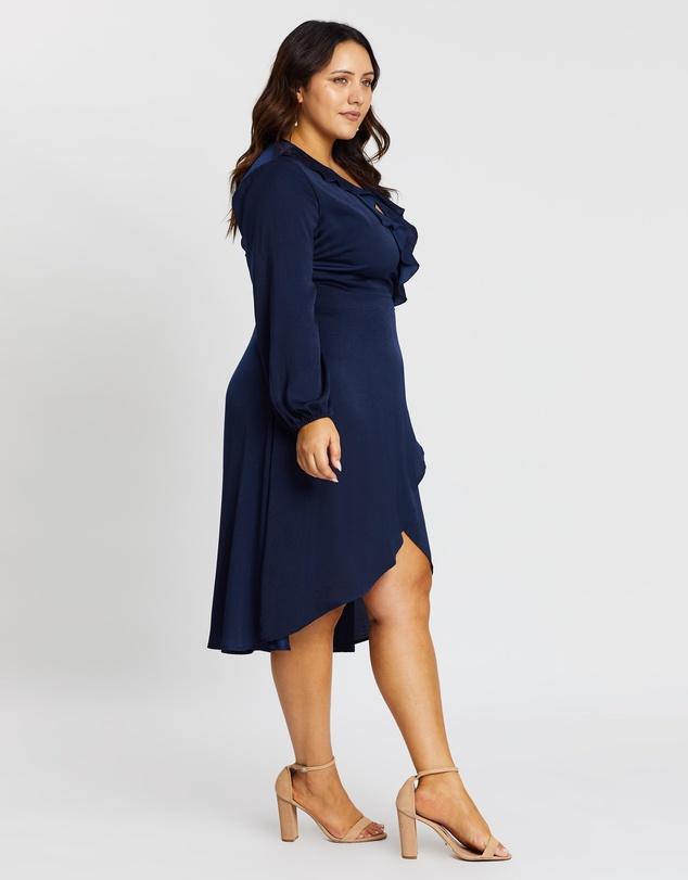 Women Dakota Wrap Front Dress