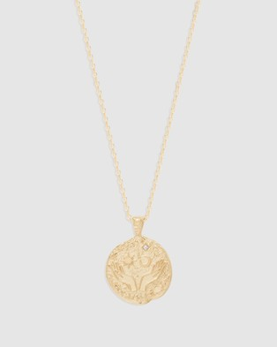 By Charlotte Gemini Necklace - Jewellery (Gold)