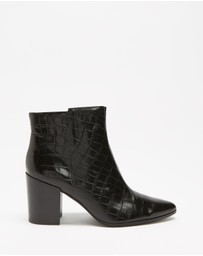 Atmos&Here - Alice Leather Ankle Boots