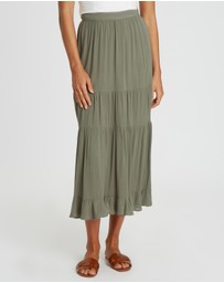 The Fated - Asher Midi Skirt