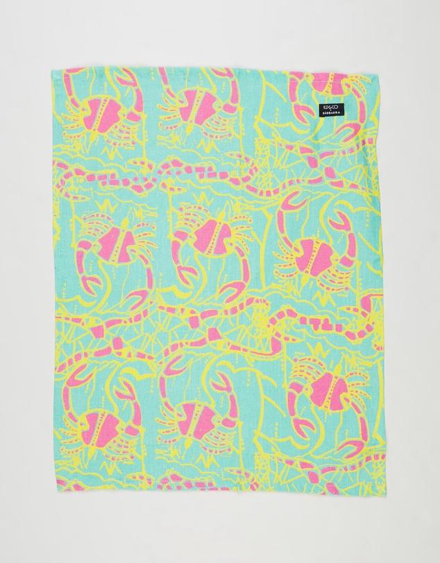 Life Barnkabarra Linen Tea Towel
