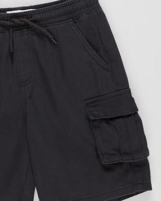 Cotton On Kids Charlie Cargo Shorts   Kids Teens - Chino Shorts (Phantom Wash)