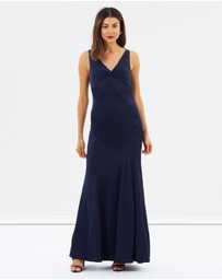 CAMILLA AND MARC - Harper V-Neck Gown