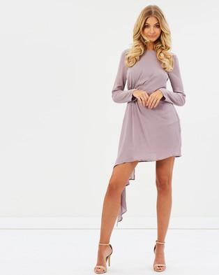 Bardot – Stilla Drape Dress Dove