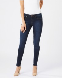 Jeanswest - Butt Lifter Skinny  Brushed Indigo