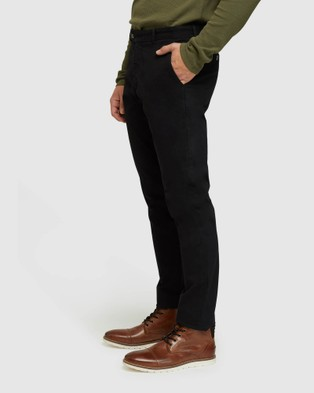 Oxford - Luka Stretch Casual Pants (Black)