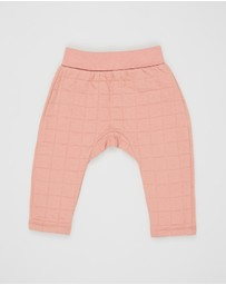 Cotton On Baby - Rory Quilted Trackpants - Babies