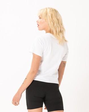 Cools Club Club Real Tee - T-Shirts & Singlets (White)