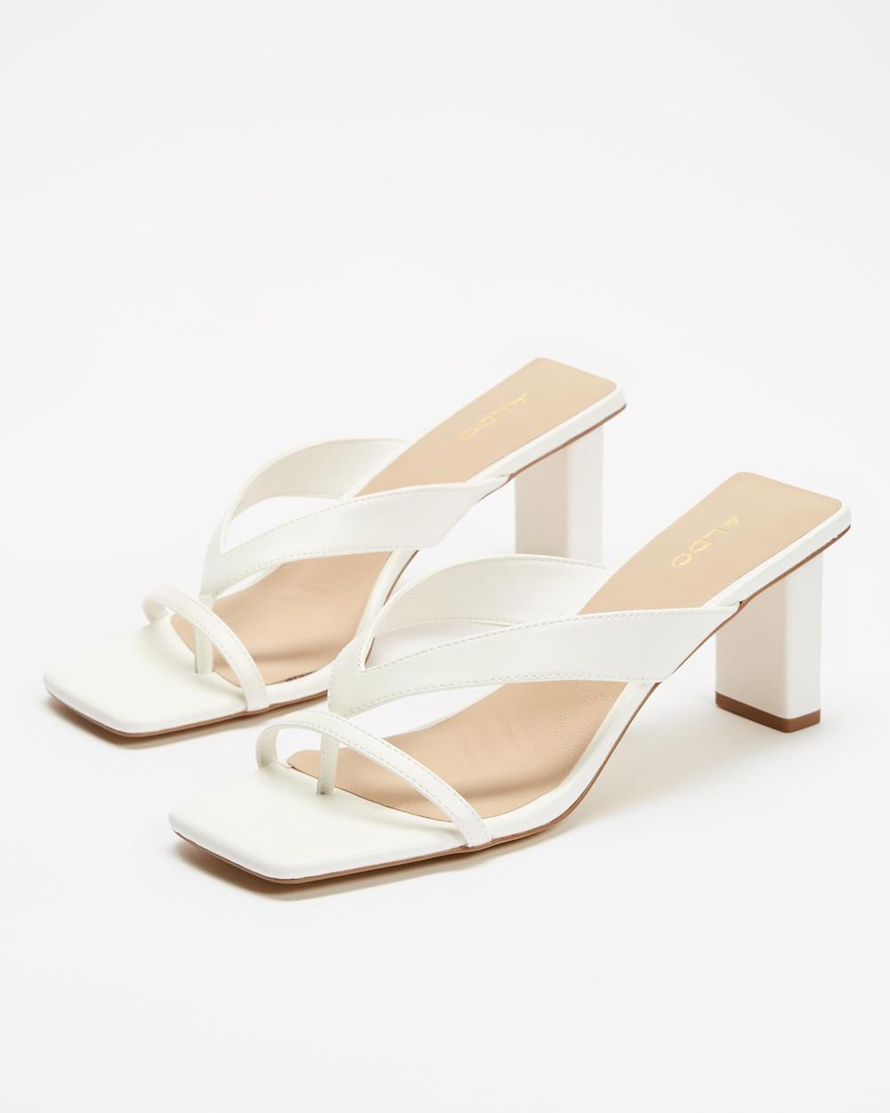 ALDO Loretta Mid-low heels White